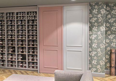 Auch das ist bei CABINET möglich: Ein Schrank in den beliebten Farrow & Ball Farben - lass dich jetzt beraten!
